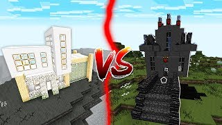 BLACK HOUSE VS WHITE HOUSE IN MINECRAFT!
