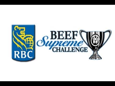 RBC Beef Supreme Challenge 2012