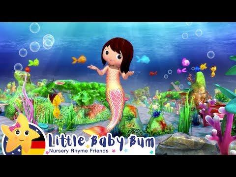 die-kleine-meerjungfrau-|-kinderlieder-|-cartoons-für-kinder-|-little-baby-bum
