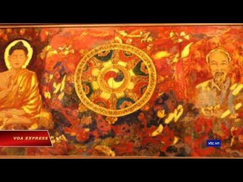 Bức tranh vẽ Phật Thích Ca và Hồ Chí Minh gây tranh cãi (VOA)