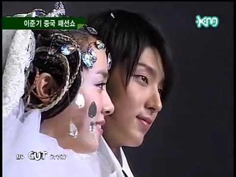 2006 Andre Kim's Fashion  in China  Lee Jun Ki, Han Ji Min