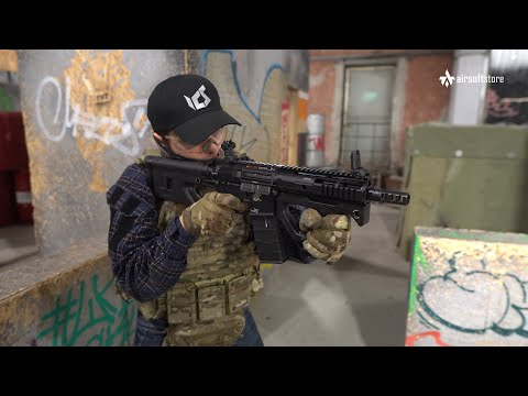 Обзор автомата HERA Arms CQR от ICS