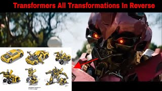 Transformers All Transformations In Reverse (READ DESCRIPTION)