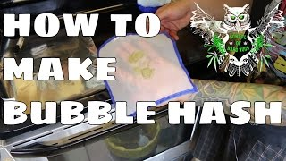 Making Bubble Hash Documentary | Turning weed trim into water hash | Ice Hash