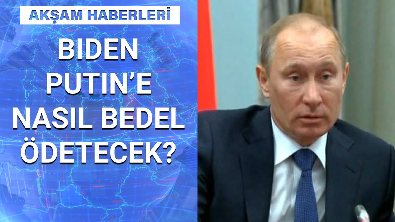 Biden Putin'e neden