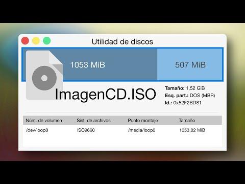 B41 - Montar imagen de disco gráficamente (GNU/Linux / Unix)