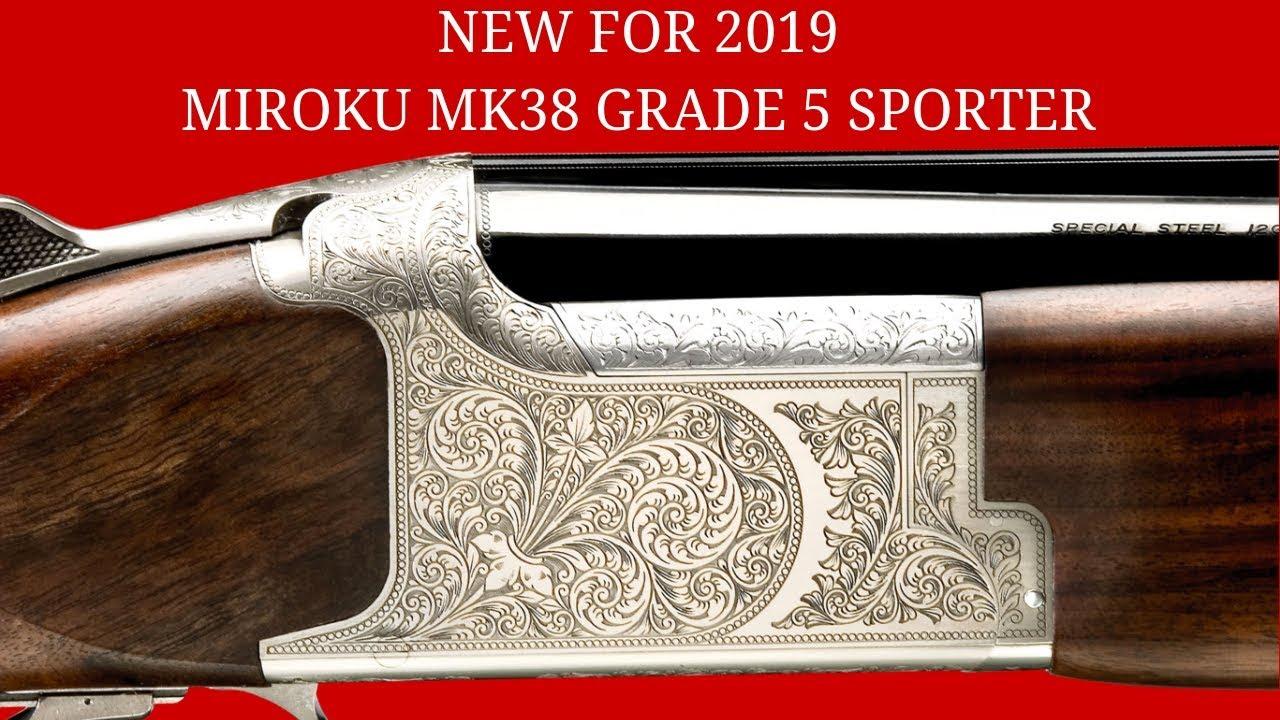 Miroku MK38 Sporter Shotgun Grade 5 - NEW FOR 2019