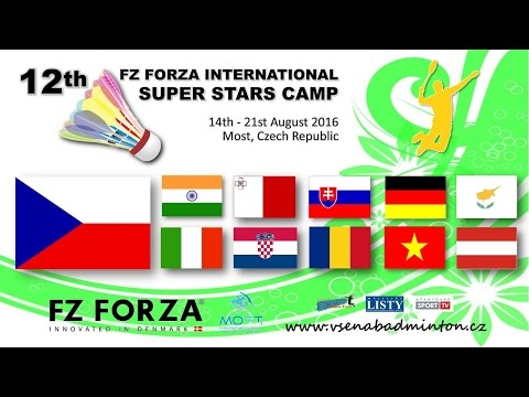 XII. FZ Forza International Super Stars Camp (14. - 21. 8. 2016)