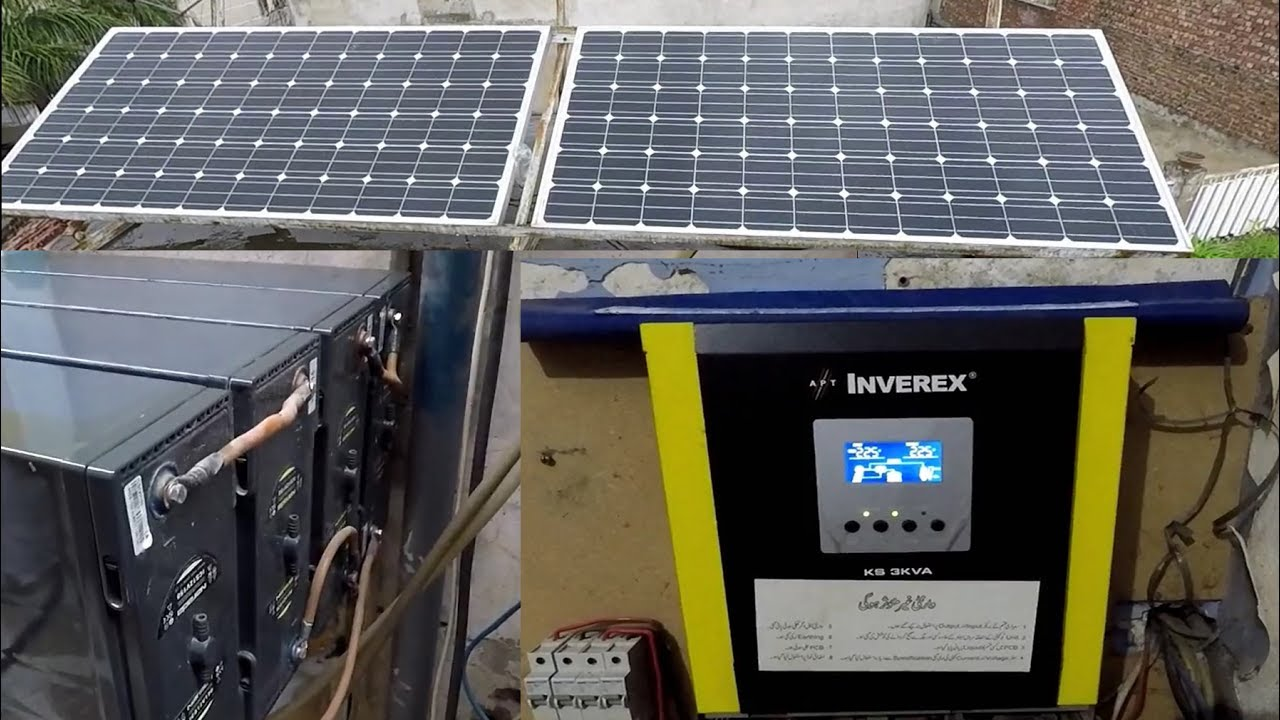3000w Solar Power System Complete Installation Guide In