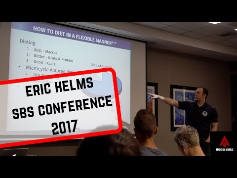 Eric Helms | How To Diet In A Flexible Manner | SBS Conference 2017