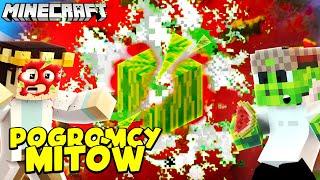 MINECRAFT POGROMCY MITÓW - WYBUCHAJĄCY MELON LEPSZY OD TNT! #22