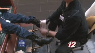 One hundrend thousand shoe shines for PVD