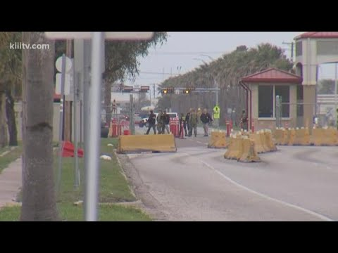 South Main Gate closed at Naval Air Station Corpus Christi after suspicious truck attachment