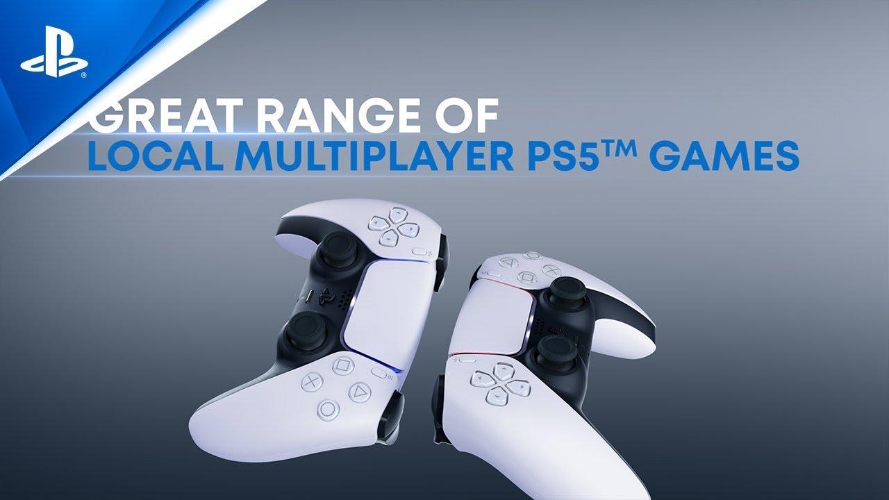 Ukázka Next-Gen lokálních multiplayerových her   PS5