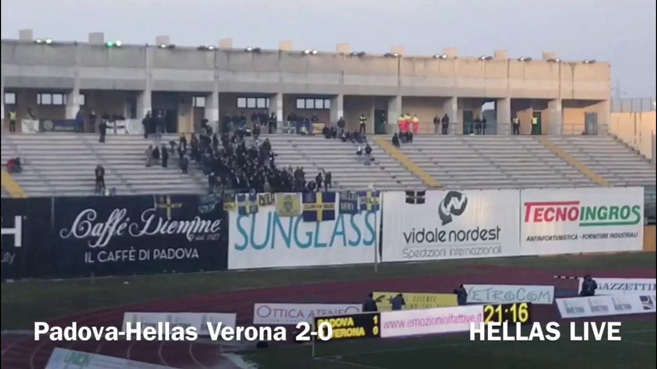Padova-Hellas Verona 2-0 - YouTube