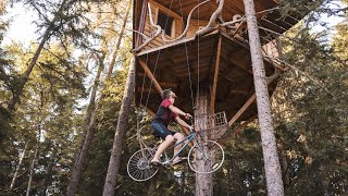 Tree House Bicycle Elevator (How It Works) Upgrades