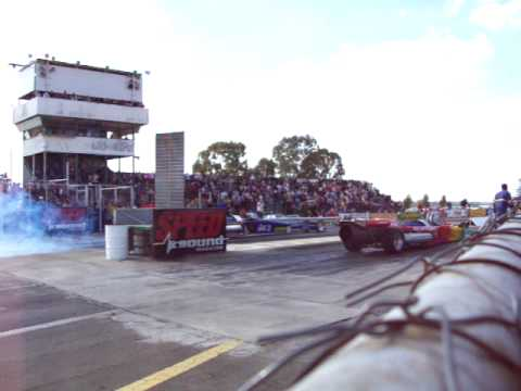 Jet Car Drag Race at Tarlton South Africa