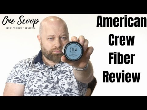 American Crew FIBER - Hair Product Review - TheSalonGuy