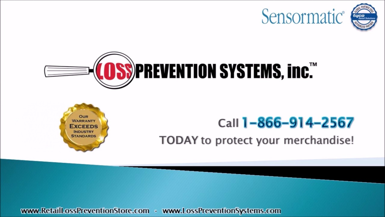 Synergy 2 4m Concealed EAS System by Sensormatic - Loss Prevention Systems