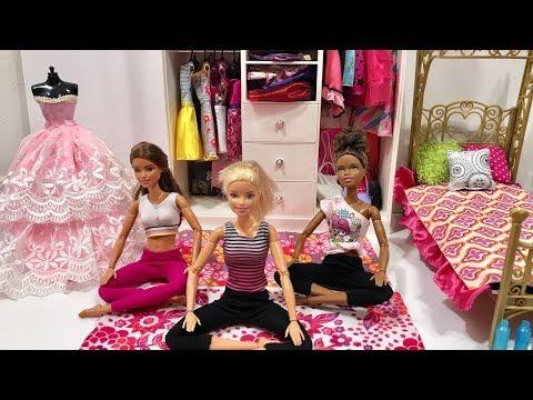 Barbie Doll Friends Day Routine!!