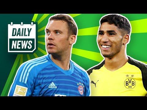 Kovac in Gefahr! Bleibt Hakimi beim BVB? Hazard: Chelsea, PSG oder Real? Superclásico 2x abgesagt!