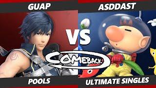 The Comeback - Guap (Chrom) Vs. Asddast (Olimar) SSBU Ultimate Tournament