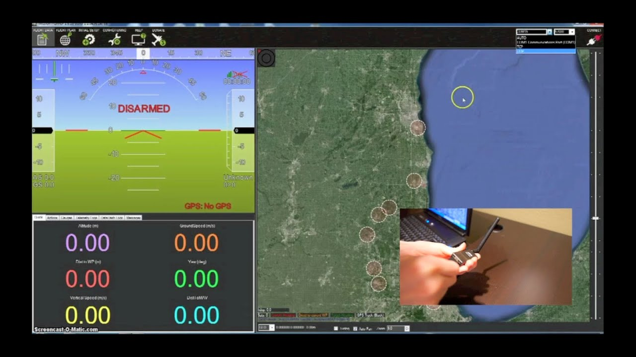 3DR IRIS+ Quadcopter | Loading Parameter Files Using Mission Planner |