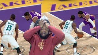 KEMBA WALKER CROSSED MY ANKLES! Lakers vs Hornets NBA 2K19 MyCareer Ep 88