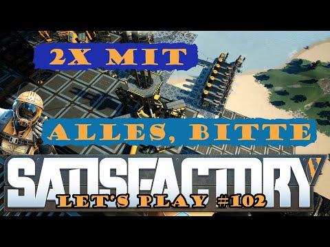 Satisfactory Let's Play 102 - Deutsch - Die 2te Produktion startet