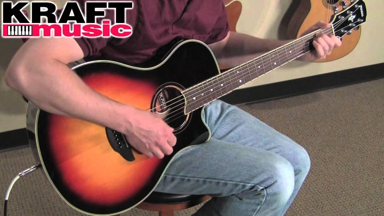 Yamaha Facoustic Guitar Natural