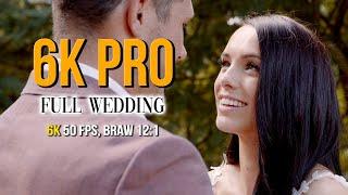 BMPCC 6K Pro - Wedding Footage (Sigma Art 18-35)