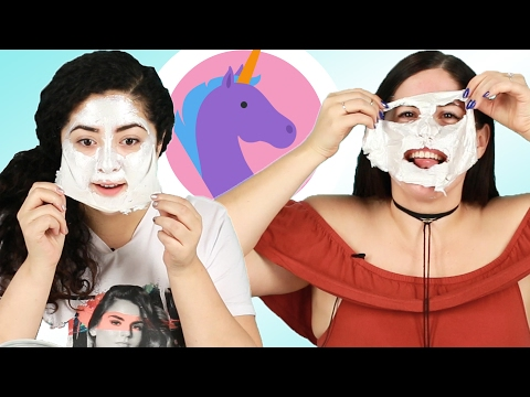 "Thumbnail: People Try A ""Unicorn"" Face Mask"