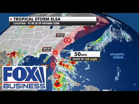 Fox Extreme Weather Center: Tracking Tropical Storm Elsa