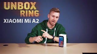 Pigių telefonų karalius   XIAOMI Mi A2   Unbox Ring apžvalga