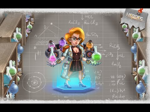 Marie Curie - Heroes Infinity: God Warriors -Action RPG Strategy