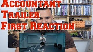 The Accountant Trailer #1 First Reaction! BEN AFFLECK FILM