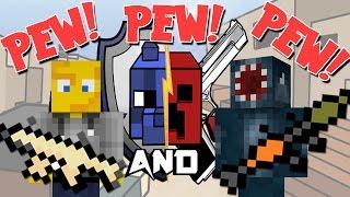 Minecraft - Hunger Games With Guns?! W/AshDubh