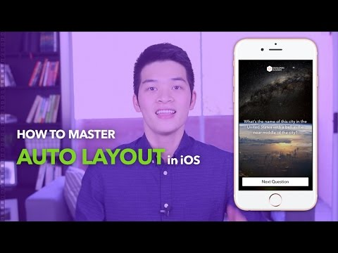 Auto Layout Tutorial in Xcode with Swift for iOS 10 | iOS Development Tutorial