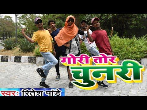 Gori Tohar Chunari Ba Lal Lal Re || Ritesh Pandey || Bhojpuri Dance Cover By Nitesh X Manish