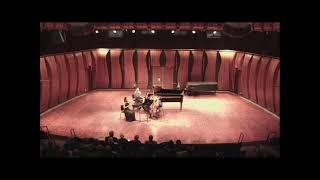 J Brahms Piano Trio no 1 in B major, Op 8 1 Allegro con brio; Dziewiecka Adams Hirshfield