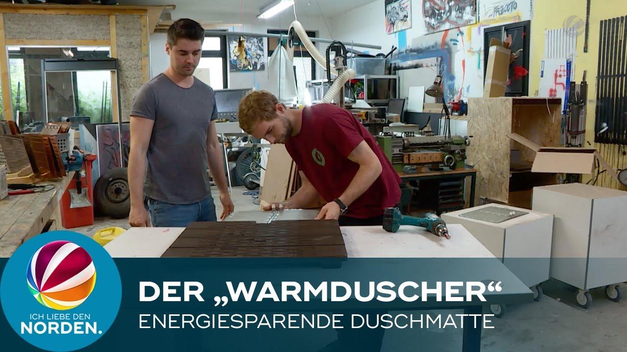 Ingenieure aus Hannover entwickeln energiesparende Duschmatte