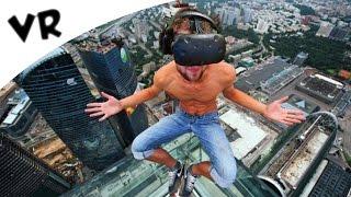 ENGE VAL MET VR BRIL!! (HTC Vive Virtual Reality)
