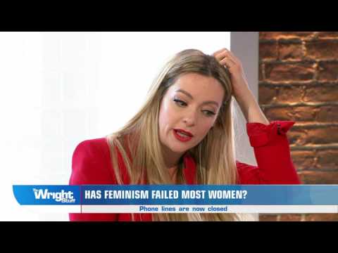 Cherry Healey gives her views on Fay Weldon's remarks about feminism...