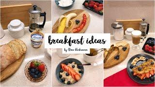 Полезные и быстрые завтраки // рецепты на каждый день