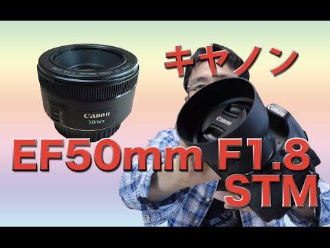 新発売・キヤノン EF50mm F18STMの話 vs 神レンズ・へた写真付き