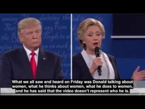 Learning English with The Future American President The Second Debate P1