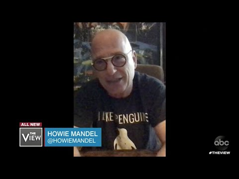 Howie Mandel Discusses How Being a Germaphobe Has Aided in Pandemic