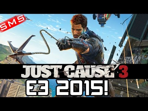 Just Cause 3: Trailer Reveal E3 2015 Conference!