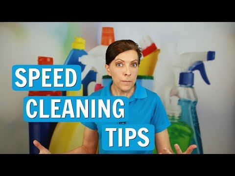 Speed Cleaning Top Tips For 2017 ⭐⭐⭐⭐⭐