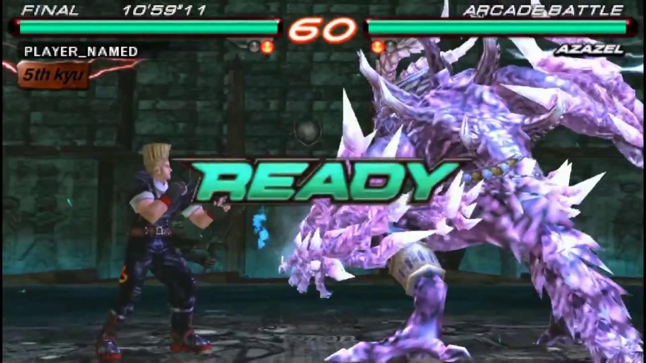 Tekken 6 Azazel Vs Paul Final Fight Youtube